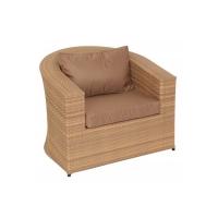 Кресло Комфорт мелаж з подушками стандарт