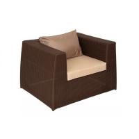 Кресло Мелаж шоколад з подушками стандарт