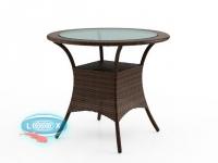 Стол со стеклом  FILIP